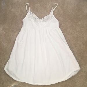 Victoria Secret white cotton sleep slip size S